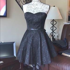 Adorable fun Black mini dress